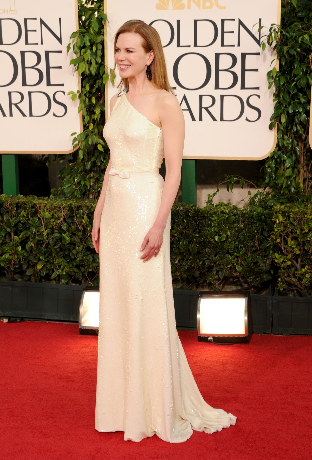 One Shoulder Dress Nicole Kidman