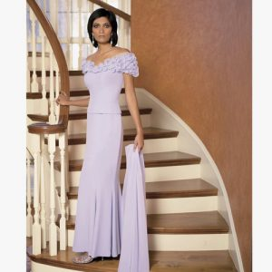 Daymor off the shoulder gown