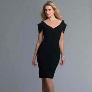 Cold Shoulder Cocktail Dress