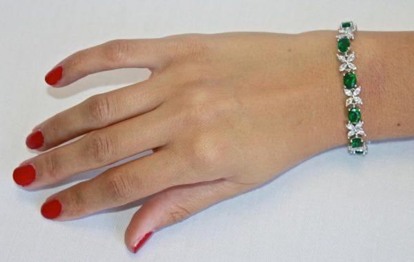 Diamond XO bracelet