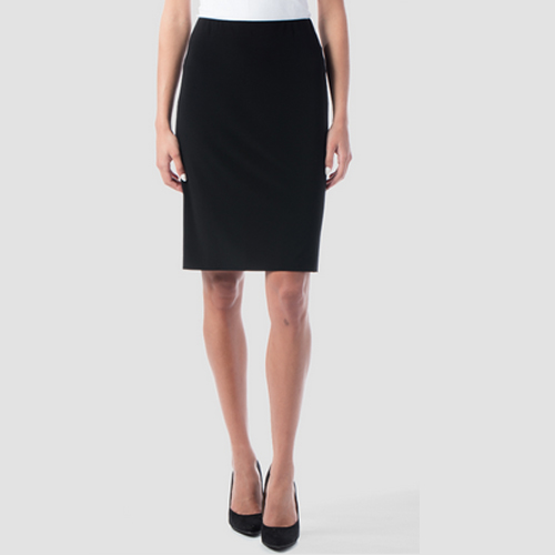 Joseph Ribkoff Straight Black Skirt