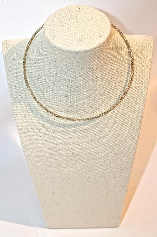 Wire Diamond Choker