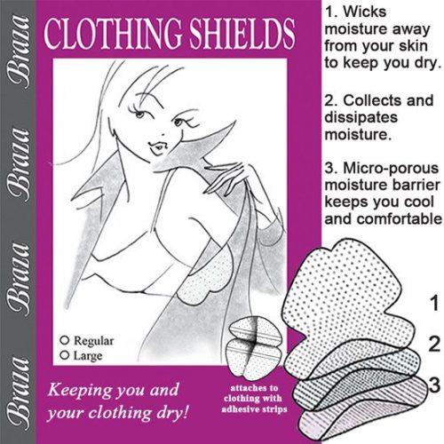 clothing shields