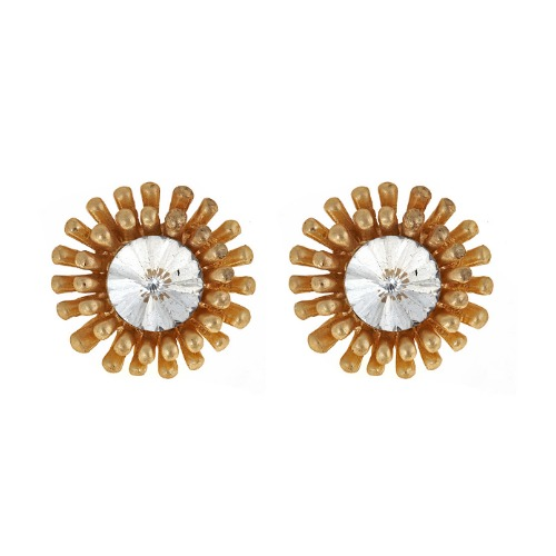 sunburst earrings