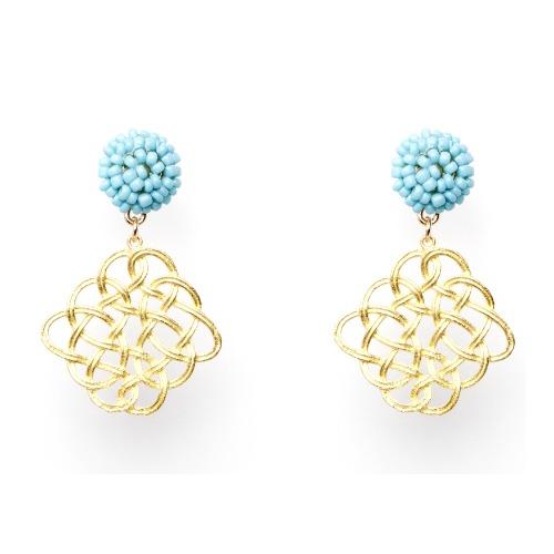 Maze Earring