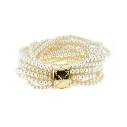 Pearl Multi Strand Bracelet
