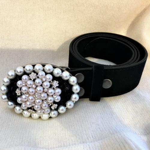 Lauren Hampton Pearl Girl Belt