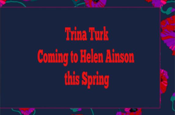 Trina Turk coming