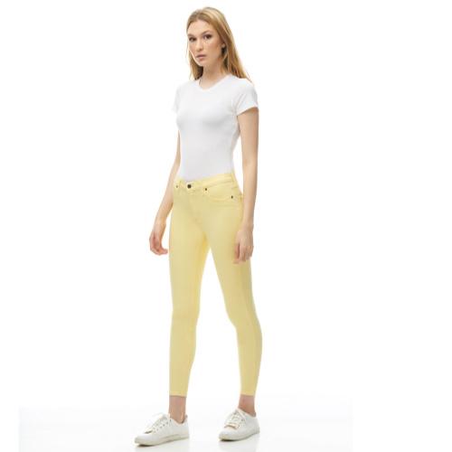Second Yoga Rachel Skinny Jeans Jonquille