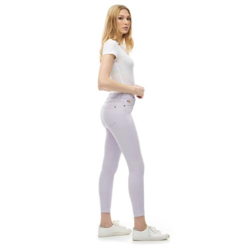 Second Yoga Rachel Skinny Jeans Lilas