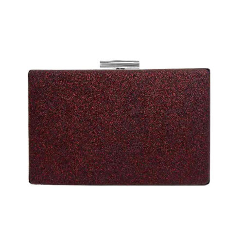 Glitter Hard Case Clutch