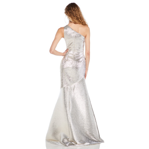 Theia One Shoulder Gown