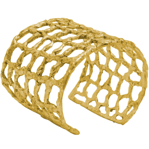 Karine Sultan Bellamy Honeycomb Cuff