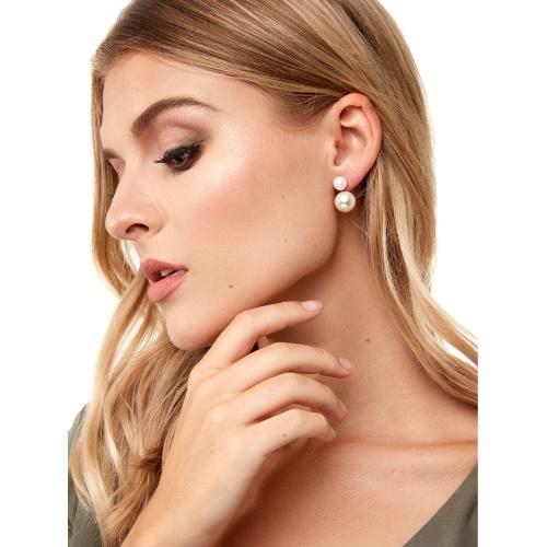 Zenzii Pearl Jacket Earring