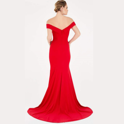 Saboroma Off the Shoulder Gown