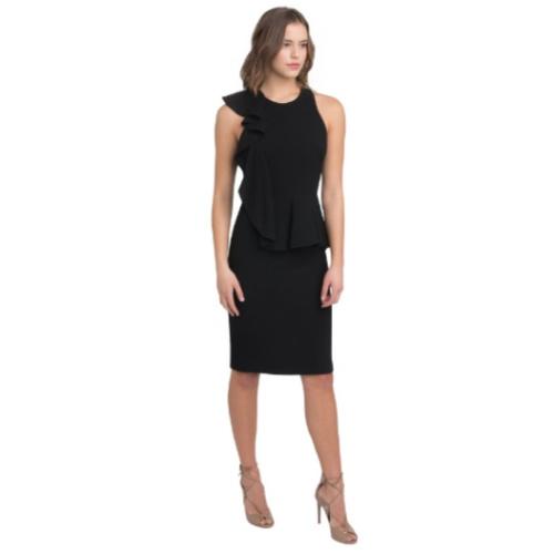 Black Halo Felicia Peplum Dress