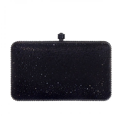 JNB Fashion Evening Bag Crystal Studs