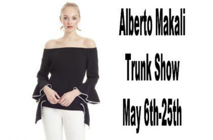 Alberto Makali Trunk Show