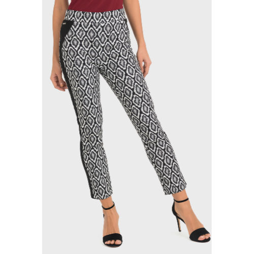 Joseph Ribkoff Pull On Geometric Pant