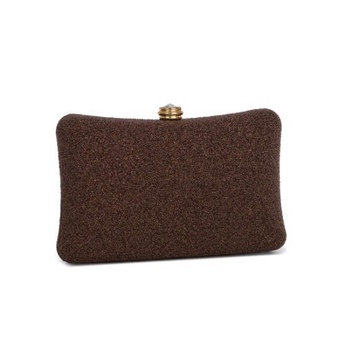Sparkly Pebbled Enchanted Hardcase Clutch