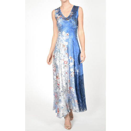 Komarov Sleeveless Maxi Dress