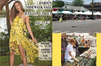 Darien Sidewalk Sale 7/11-7/13