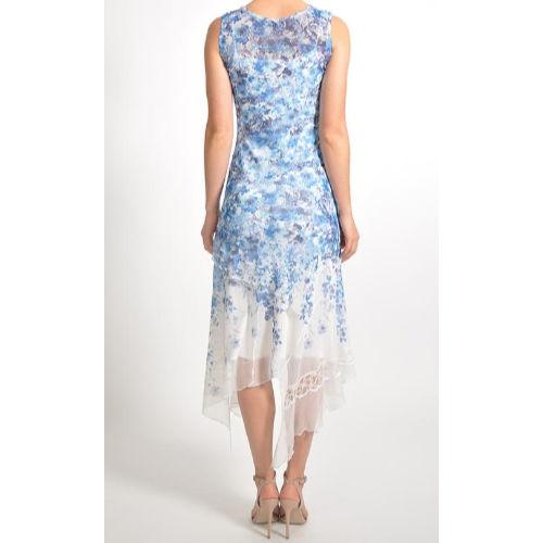 Komarov Sleeveless Asymmetric Dress