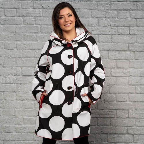 UBU Polka Dot Rain Coat