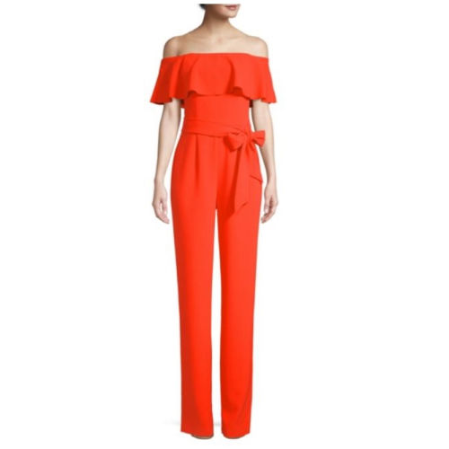 Trina Turk Guests Orange Jumpsuit