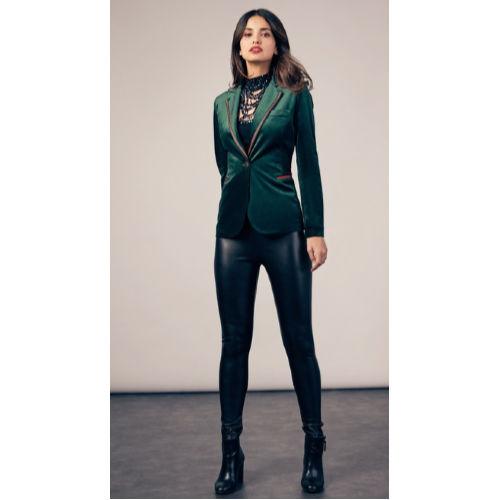 Oh La La Green Velvet Jacket