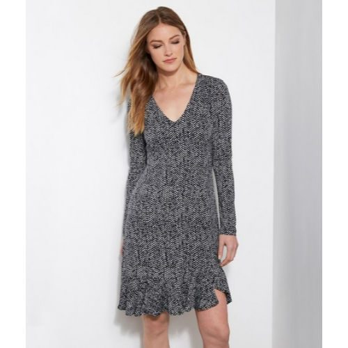 Karen Kane Long Sleeve Sienna Dress