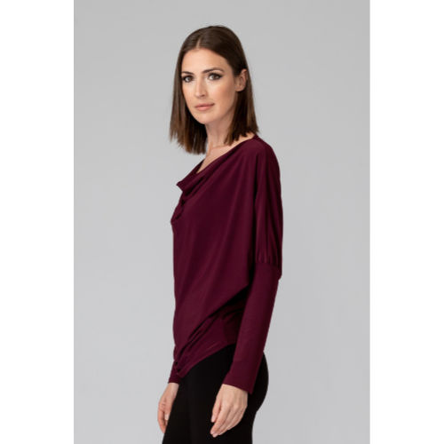 Joseph Ribkoff Cowl Neck Top