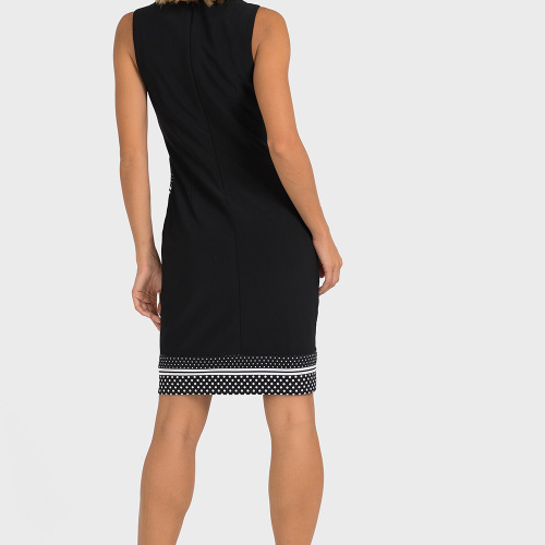 Joseph Ribkoff Black/White Dress
