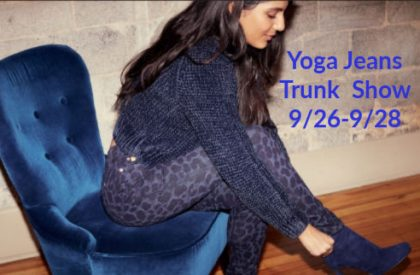 Yoga Jeans Fall Trunk Show