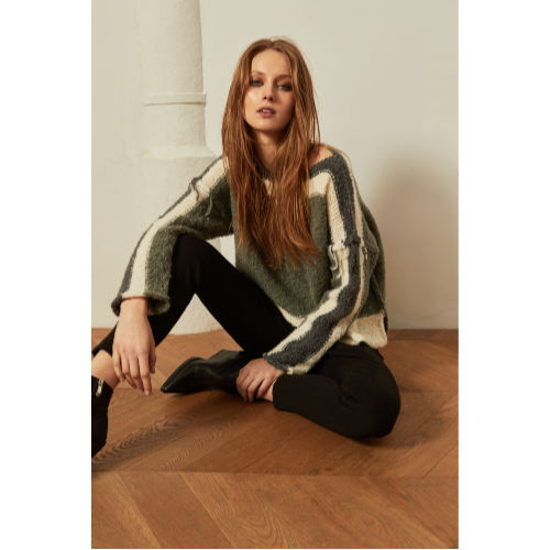Ams Pure Olive Sweater