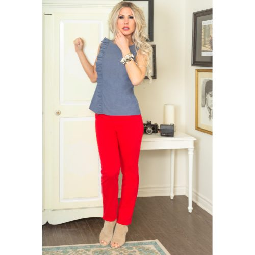 Perfect fit Denim Red