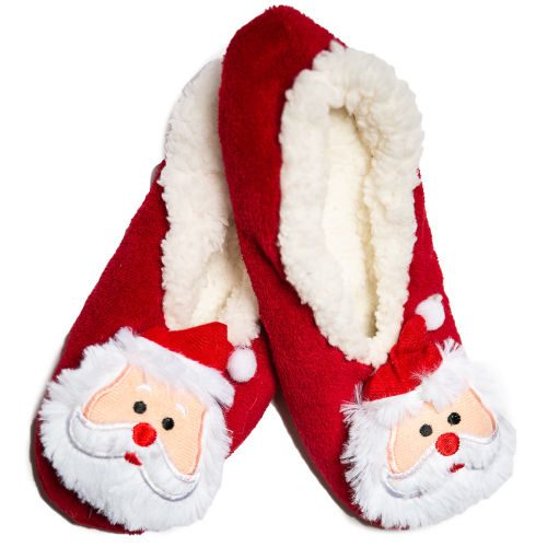 Cozy Santa Slippers