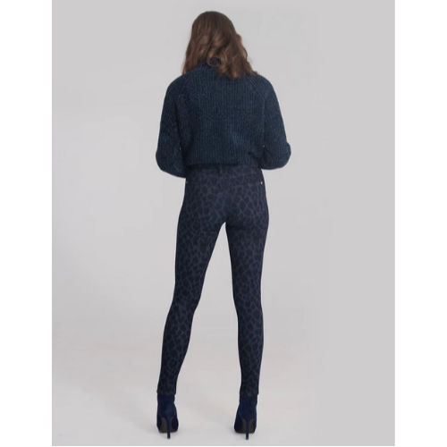 Yoga Jeans Rachel Skinny Cheetah