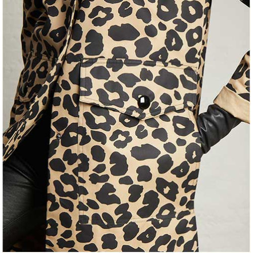 Elliott Lauren Well Spotted Animal Print Jacket