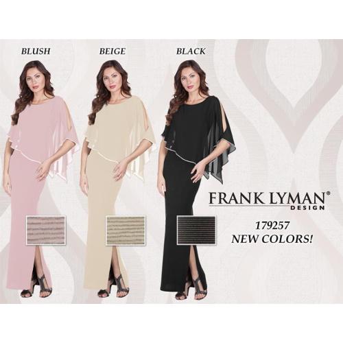 Frank Lyman Cape Gown