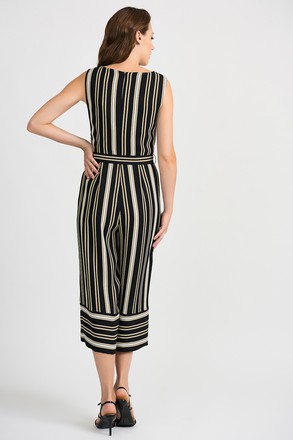 Joseph Ribkoff Black/Gold Jumpsuit