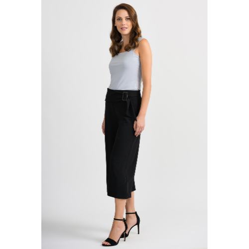 Joseph Ribkoff Wide Leg Pant with Belt