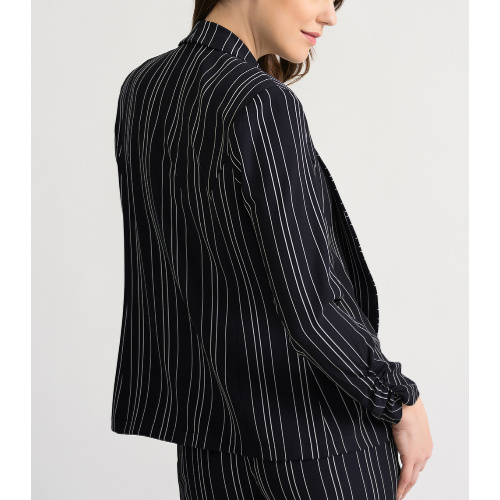 Joseph Ribkoff Navy Striped Jacket
