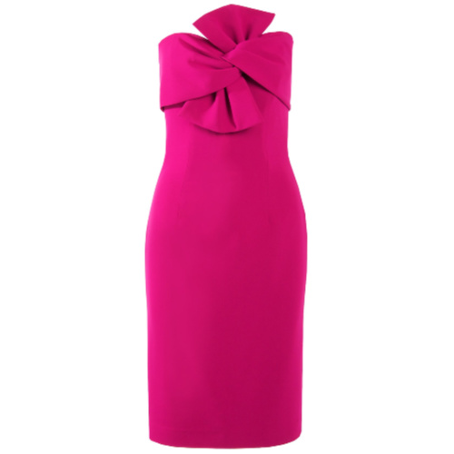 Strapless Bow Dress