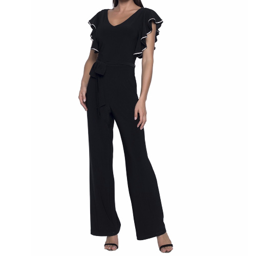 Frank Lyman Black and White Jumpsuit