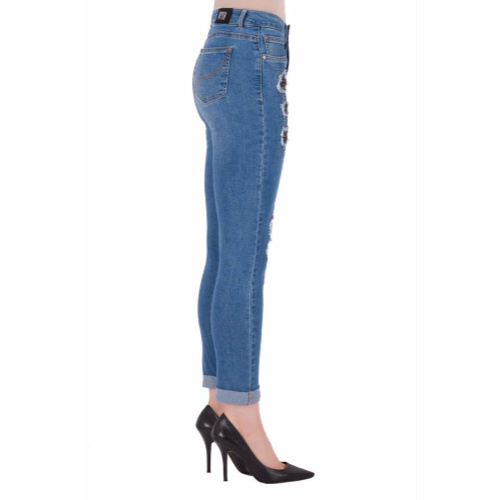 Joseph Ribkoff Patched Jeans