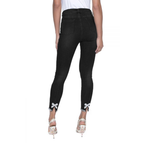 Frank Lyman Bow Jeans
