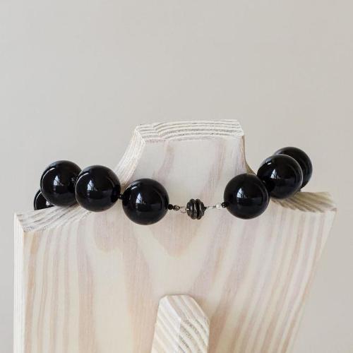 "Black Ice 18"" Necklace"