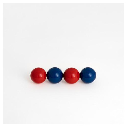 pearl red blue