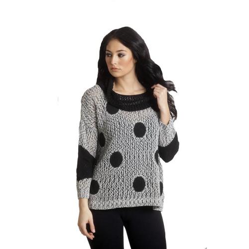 French Kyss Crochet Dot Cowl